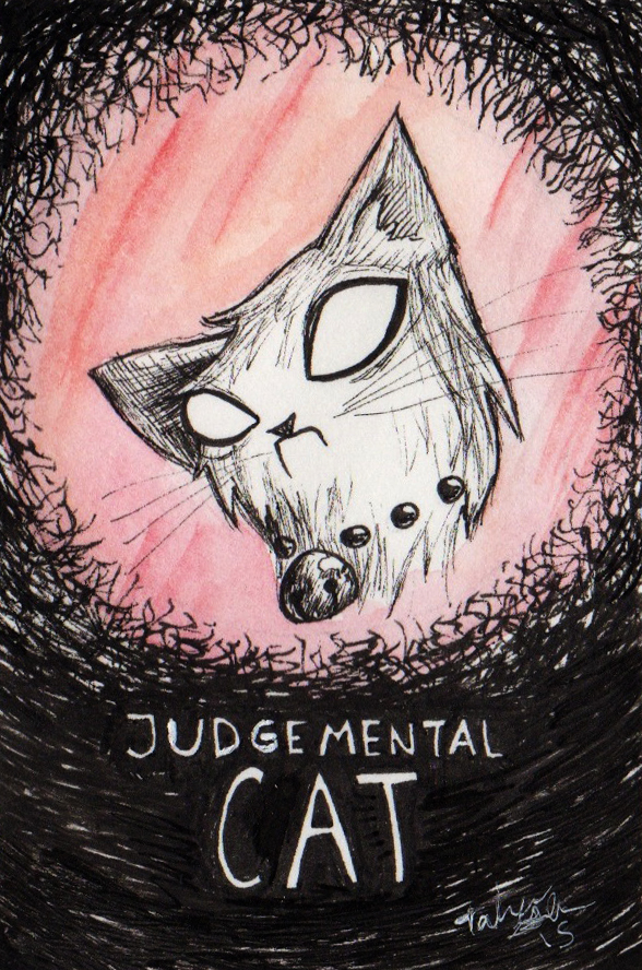 Judgemental Cat